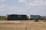CSX Transportation (CSX) EMD SD70M No. 4681 and SD40-2 No. 8001