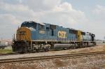 CSX Transportation (CSX) EMD SD70M's No. 4693 and No. 4688
