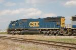CSX Transportation (CSX) EMD SD70M No. 4693