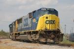 CSX Transportation (CSX) SD40-2's No. 4688 and No. 4693