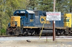 CSX Transportation (CSX) EMD GP38-2 No. 2647