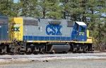 CSX Transportation (CSX) EMD GP38-2 No. 2725