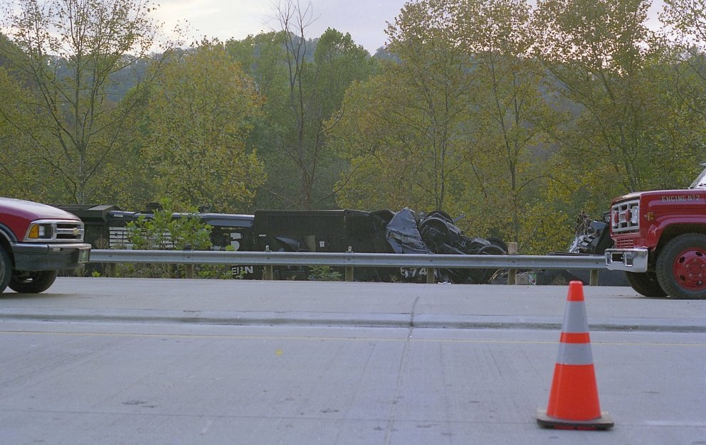 Crews safely escaped head-on