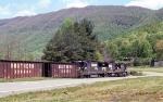 NB NS empty coal train