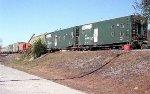 NS 995261 MOW train