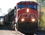 CN 2677 Heads East With 2 IC SD70's
