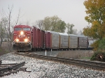 CP 8805 Leading X500 East On A Typical Cloudy November Day