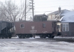 One Standard RR of the World Caboose Had a Goose!