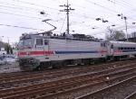 AEM-7 leaving the station