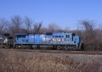 NS 8205 in Conrail colors