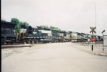 NS 7007 and NS 6647 in John Sevier Yard