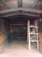 Inside DRGW Box Car 2004