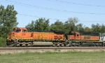 BNSF 5515 and 7031