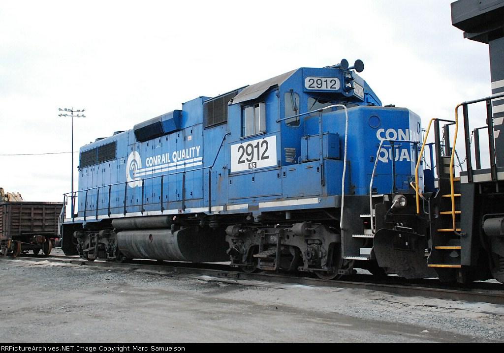 The Last ex CR GP38 In Service