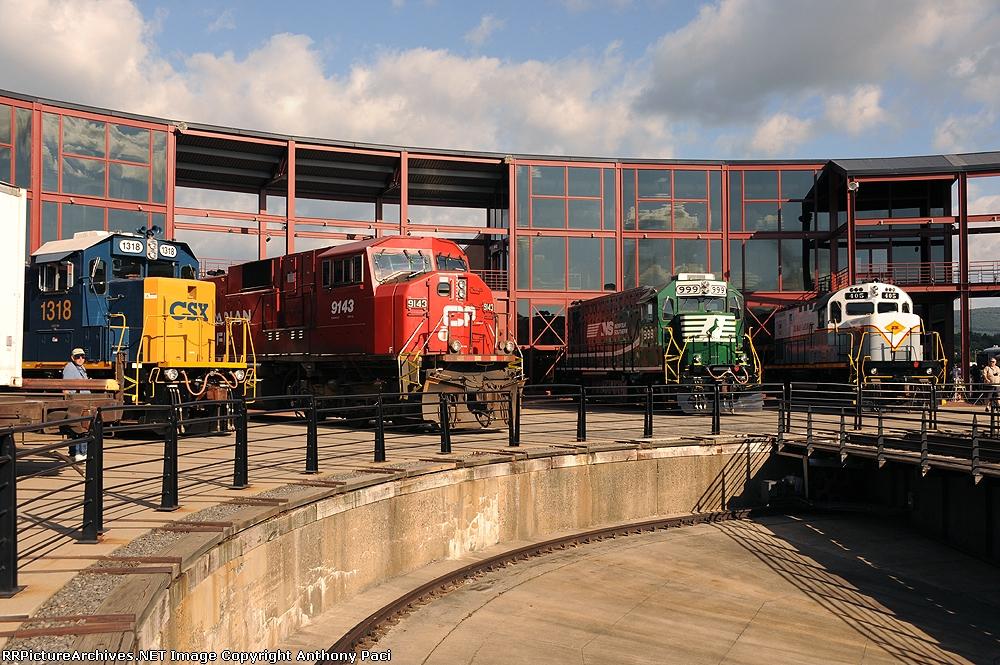 Steamtown lineup