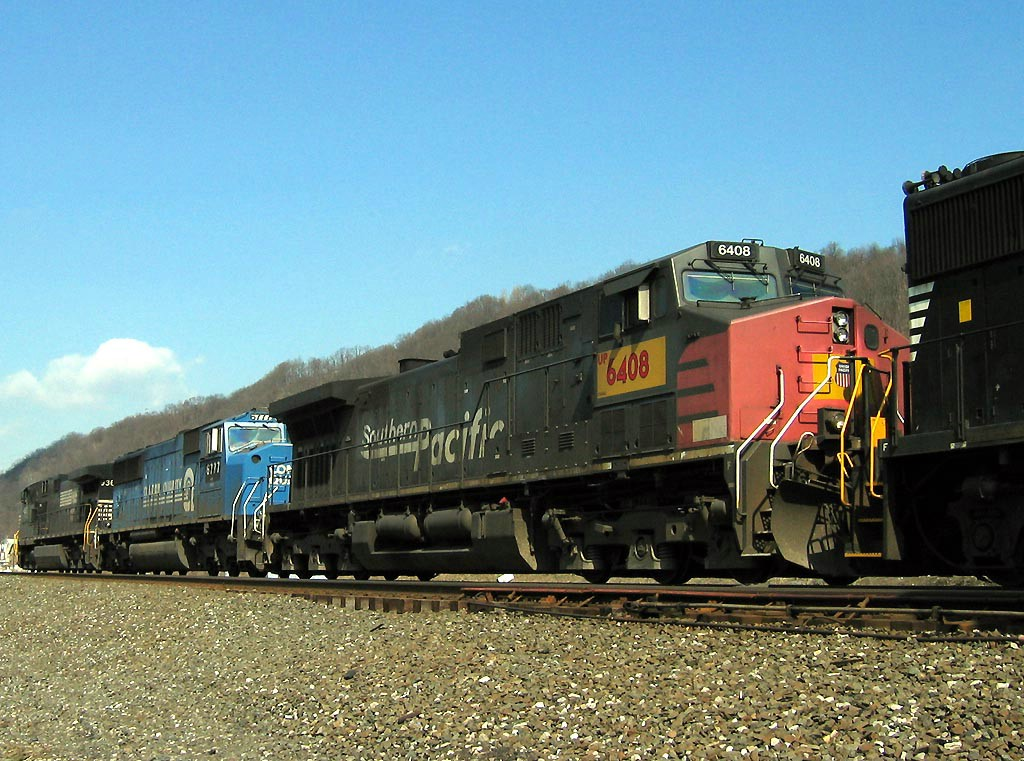 NS 9363 Westbound With Patched SP AC4400CW