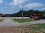 BNSF 5815 KCS 4004 KCS 4032