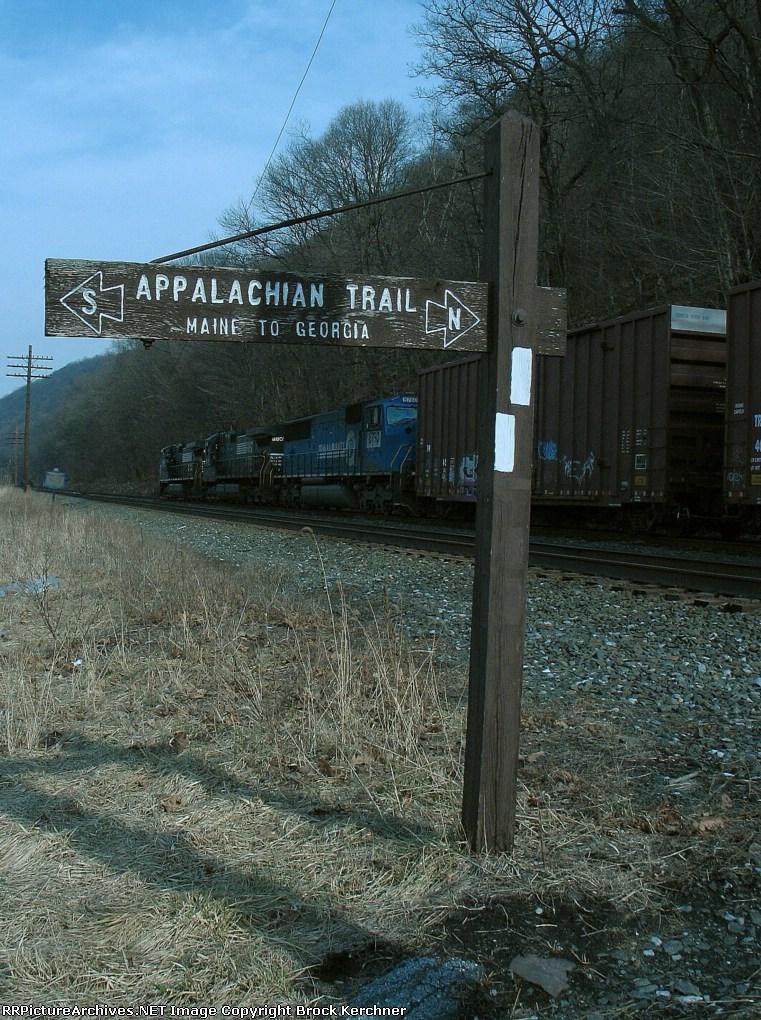 North on the Buffalo Line