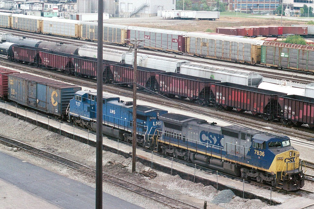 Consist encharged of a SB freight