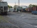 New York Atlantic Railway's Fresh Pond Yard and main shop/offices