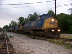 CSX 7911 on Q539 Southbound