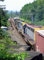 CSX 403 with TORCO 998