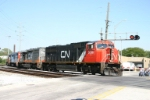 CN 5686 heads down the IHB triple track