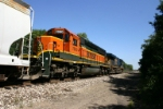 BNSF 7890 with flared radiators