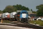 IAIS train hangs out