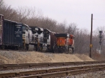 BNSF 5857 Couples on to CP 931