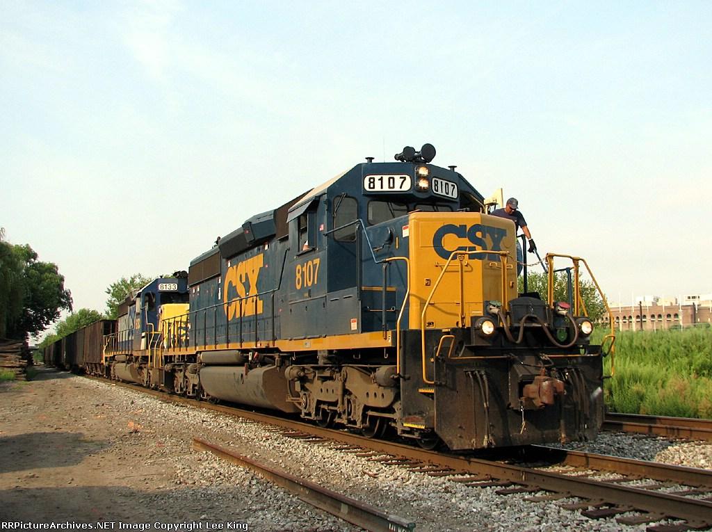 CSX 8107 Y550