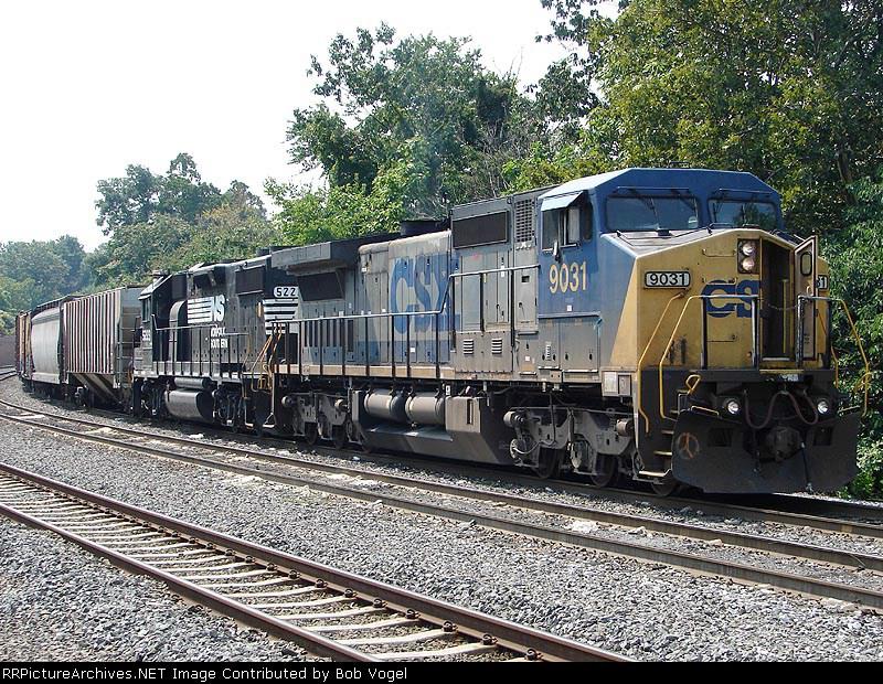 CSX 9031 & NS 5223