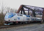 Repainted Amtrak 700