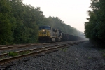 wb coal train hammers west at cp58