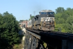 ns 309  runs by the Welch plant and onto the bridge right before mp  58