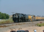 UP 844 on the SB Colo State Fair Special