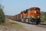 BNSF 5937 crossing the Gull River