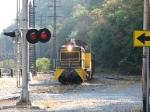 CBL 2000 rolling away from Freightcar America