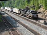 NS 2744 & 2740 thundering uphill with 20R