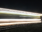 The sparks fly all over as RG306 works on Track 1