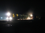 RG306 working up the hill at night