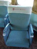 "One of the ""Cedar Rapids'"" original parlor chairs"