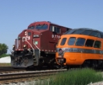 "CP 9776 meets the ""Cedar Rapids"""