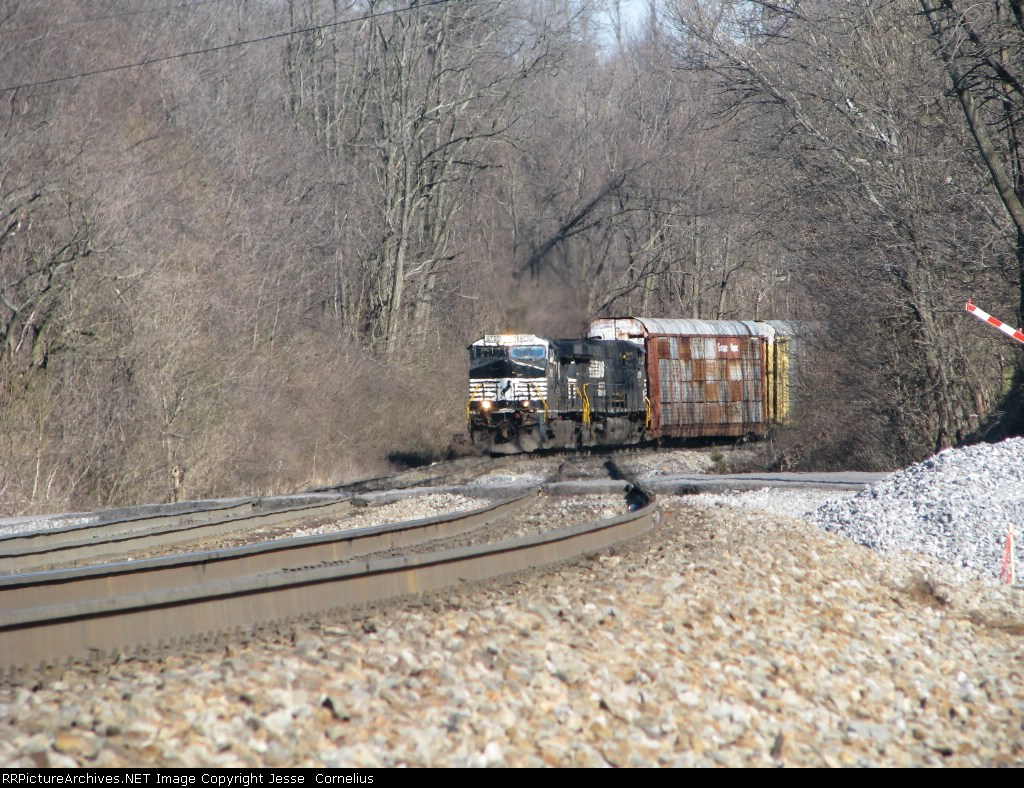 NS 287 Southbound