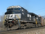 NS 9750 on NS 287 Southbound