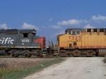 Southbound UP Loaded Coal Train DPU's