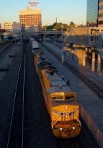Westbound UP Intermodal
