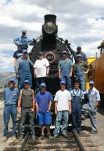 Nevada Northern Railcampers 2007