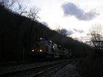 CSX 4701 by WE Coal River Siding