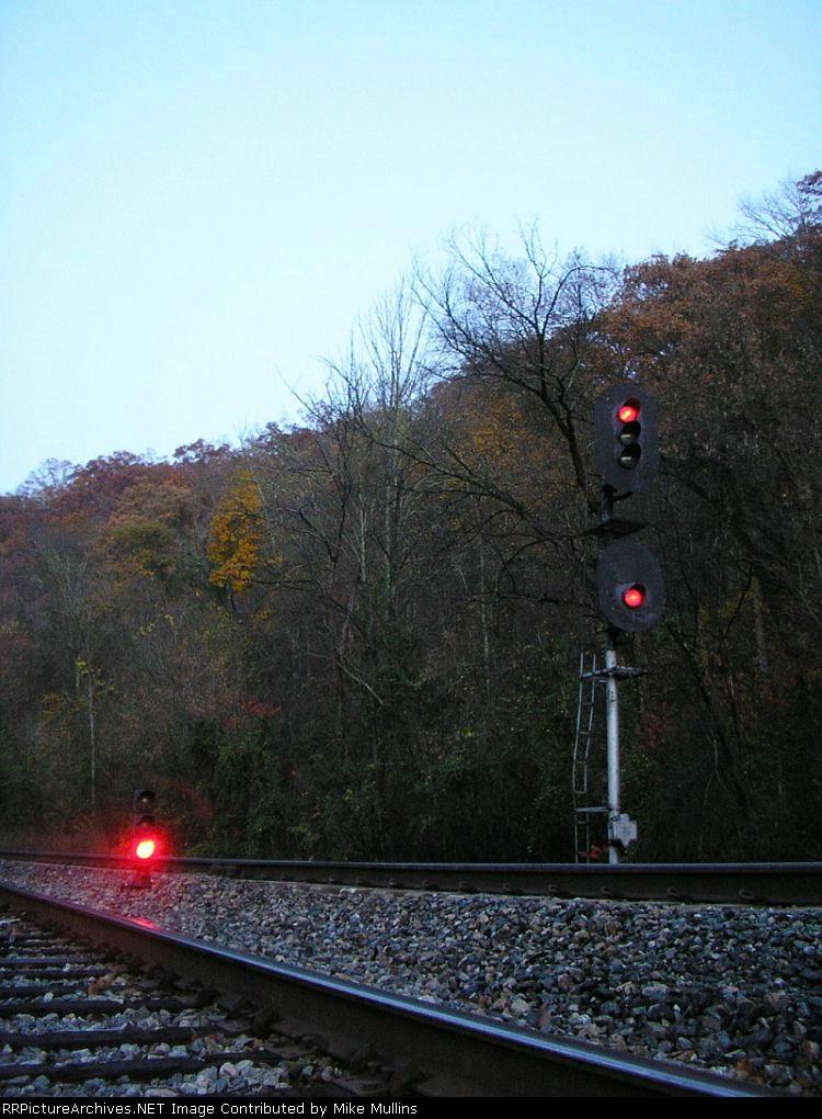 WE of Coal River Siding, Morning Shot,